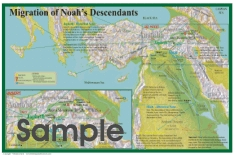 Migration of Noah's Descendants